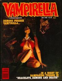 Cover for Vampirella (Warren, 1969 series) #92