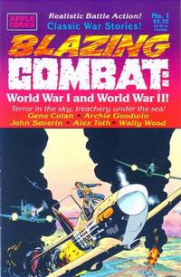 Cover Thumbnail for Blazing Combat: World War I and World War II (Apple Press, 1994 series) #1