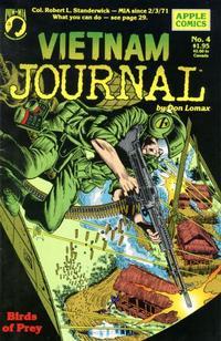 Cover Thumbnail for Vietnam Journal (Apple Press, 1987 series) #4