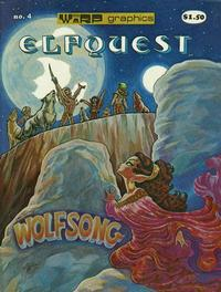 Cover Thumbnail for ElfQuest (WaRP Graphics, 1978 series) #4 [$1.50 later printing]