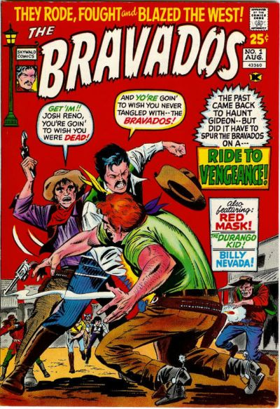 Cover for The Bravados (Skywald, 1971 series) #1