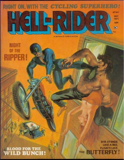 Cover for Hell Rider (Skywald, 1971 series) #2