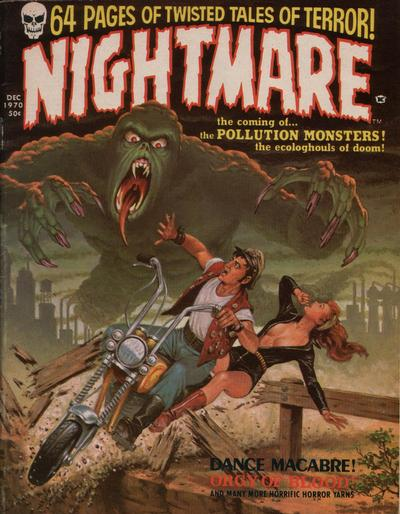 Cover for Nightmare (Skywald, 1970 series) #1