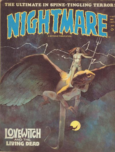Cover for Nightmare (Skywald, 1970 series) #6