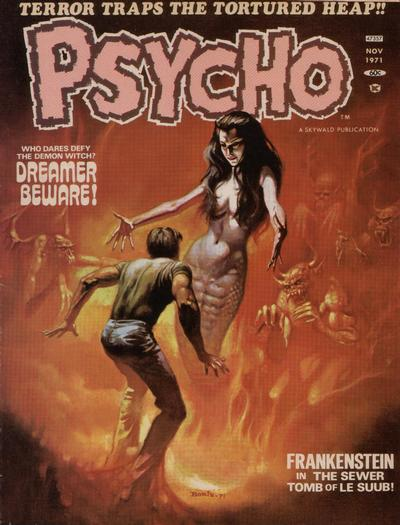 Cover for Psycho (Skywald, 1971 series) #5