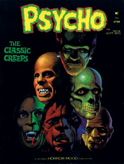 Cover for Psycho (Skywald, 1971 series) #14
