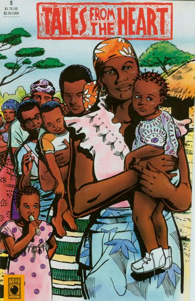 Cover for Tales from the Heart (Slave Labor, 1988 series) #5