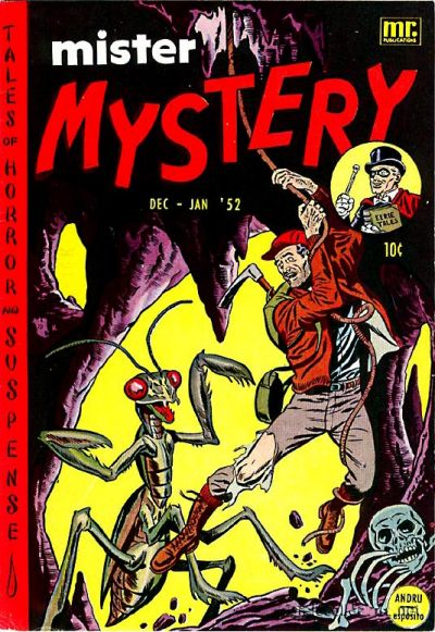 Cover for Mister Mystery (Stanley Morse, 1951 series) #3
