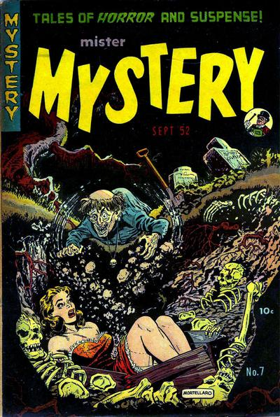 Cover for Mister Mystery (Stanley Morse, 1951 series) #7
