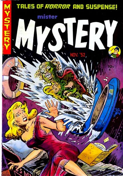 Cover for Mister Mystery (Stanley Morse, 1951 series) #8