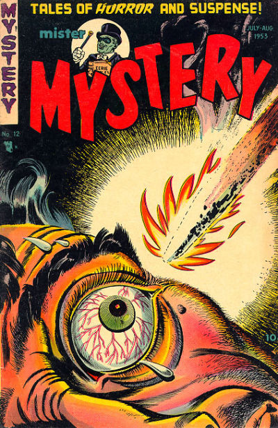 Cover for Mister Mystery (Stanley Morse, 1951 series) #12