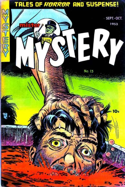 Cover for Mister Mystery (Stanley Morse, 1951 series) #13