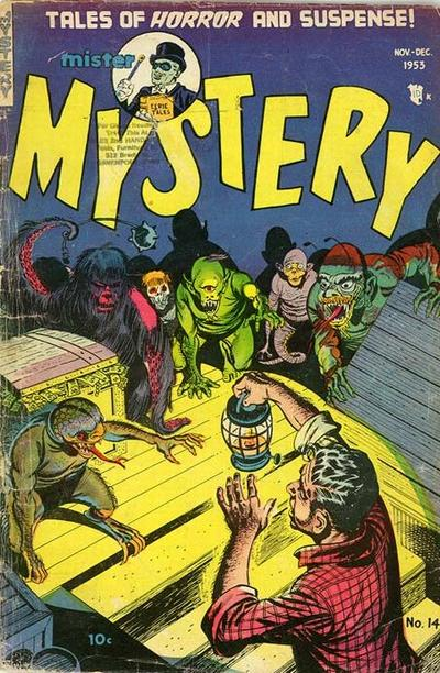 Cover for Mister Mystery (Stanley Morse, 1951 series) #14