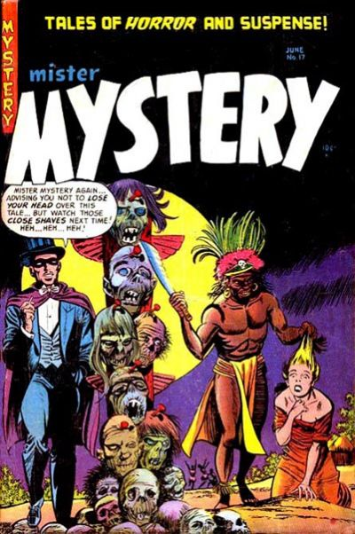 Cover for Mister Mystery (Stanley Morse, 1951 series) #17
