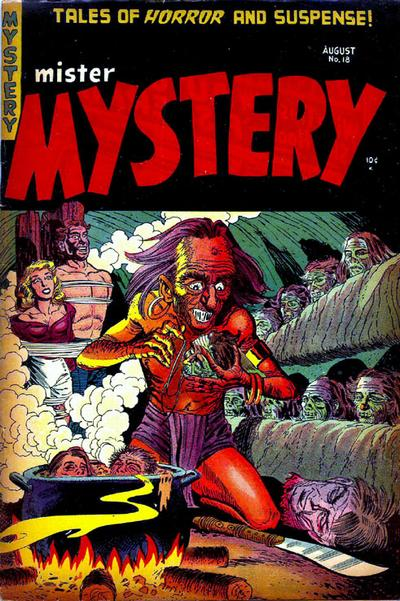 Cover for Mister Mystery (Stanley Morse, 1951 series) #18