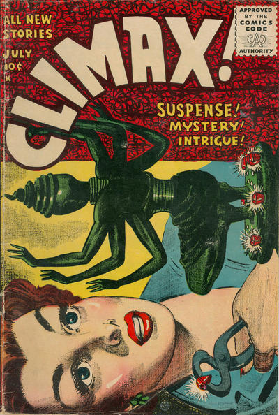 Cover for Climax (Stanley Morse, 1955 series) #1