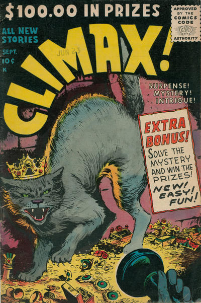 Cover for Climax (Stanley Morse, 1955 series) #2