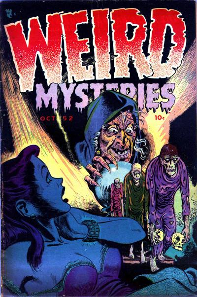Cover for Weird Mysteries (Stanley Morse, 1952 series) #1