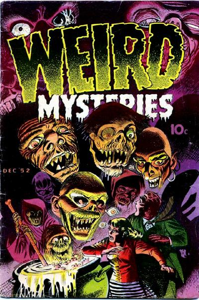 Cover for Weird Mysteries (Stanley Morse, 1952 series) #2