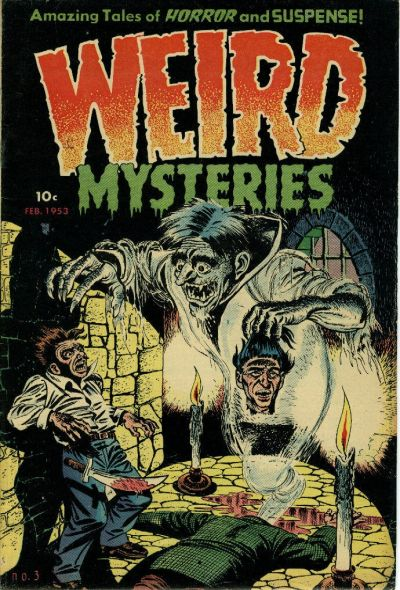 Cover for Weird Mysteries (Stanley Morse, 1952 series) #3