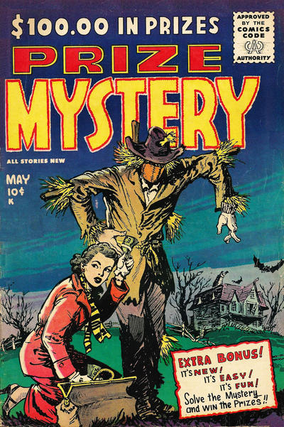 Cover for Prize Mystery (Stanley Morse, 1955 series) #1