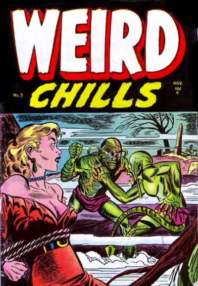 Cover for Weird Chills (Stanley Morse, 1954 series) #3