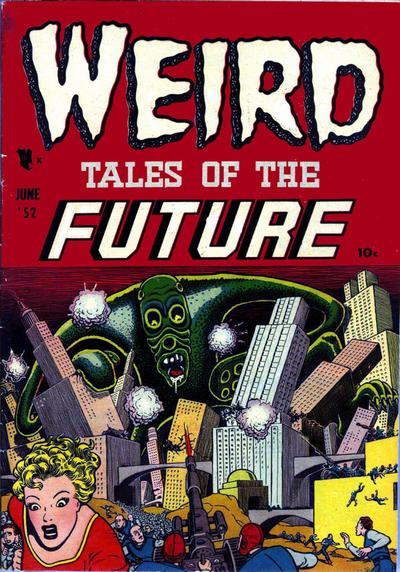 Cover for Weird Tales of the Future (Stanley Morse, 1952 series) #2