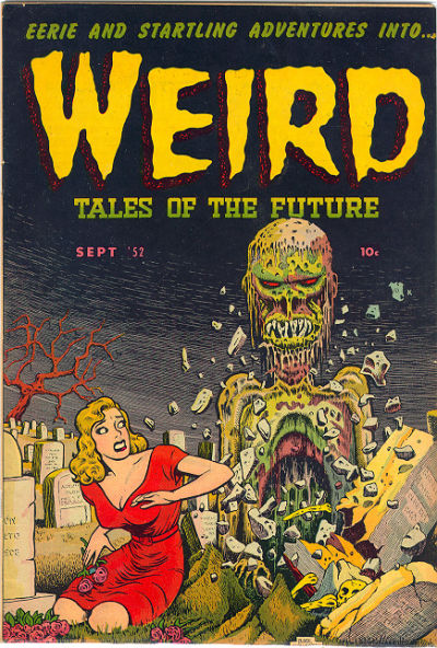 Cover for Weird Tales of the Future (Stanley Morse, 1952 series) #3