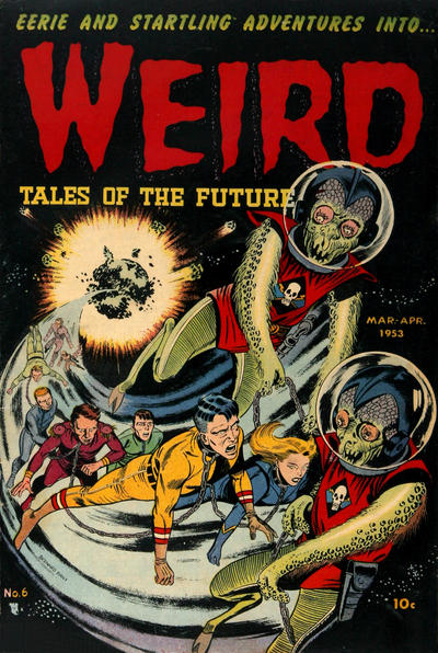 Cover for Weird Tales of the Future (Stanley Morse, 1952 series) #6