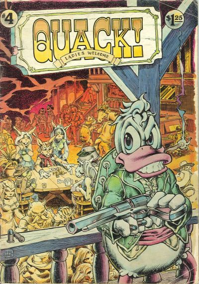 Cover for Quack (Star*Reach, 1976 series) #4