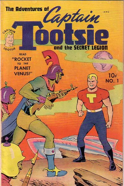Cover for Captain Tootsie (Toby, 1950 series) #1