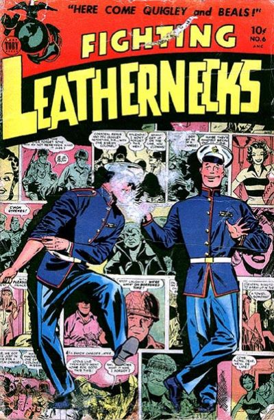 Cover for Fighting Leathernecks (Toby, 1952 series) #6