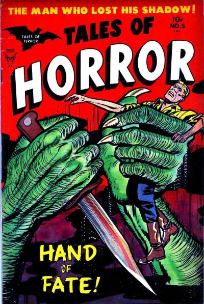 Cover for Tales of Horror (Toby, 1952 series) #5