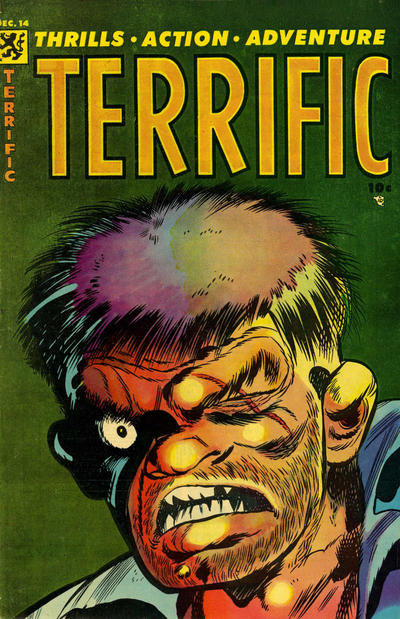 Cover for Terrific (Comic Media, 1954 series) #14