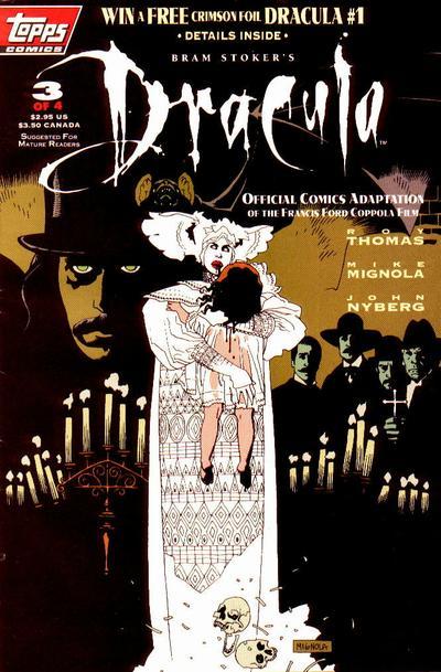 Cover for Bram Stoker's Dracula (Topps, 1992 series) #3