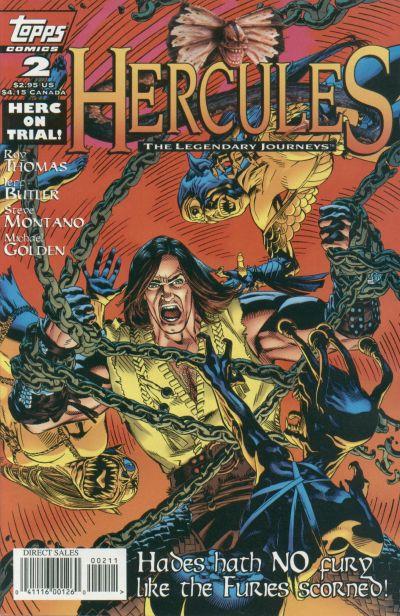 Cover for Hercules: The Legendary Journeys (Topps, 1996 series) #2