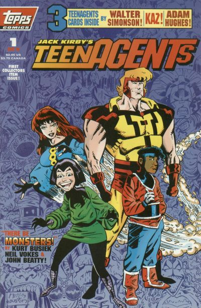 Cover for Jack Kirby's TeenAgents (Topps, 1993 series) #1