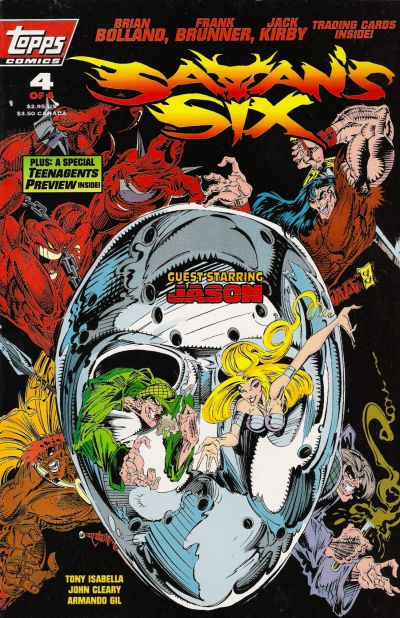 Cover for Satan's Six (Topps, 1993 series) #4