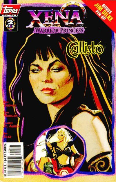 Cover for Xena: Warrior Princess vs Callisto (Topps, 1998 series) #2 [Art Cover]