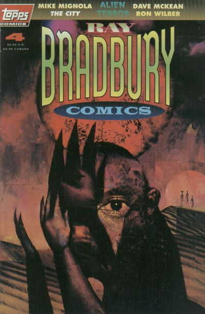 Cover for Ray Bradbury Comics (Topps, 1993 series) #4