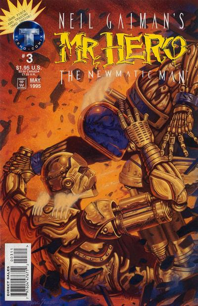 Cover for Neil Gaiman's Mr. Hero - The Newmatic Man (Big Entertainment, 1995 series) #3