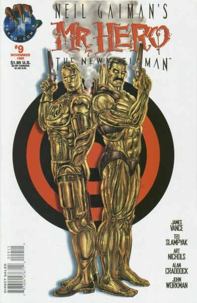 Cover for Neil Gaiman's Mr. Hero - The Newmatic Man (Big Entertainment, 1995 series) #9