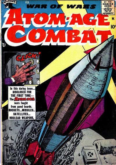 Cover for Atom-Age Combat (St. John, 1958 series) #1