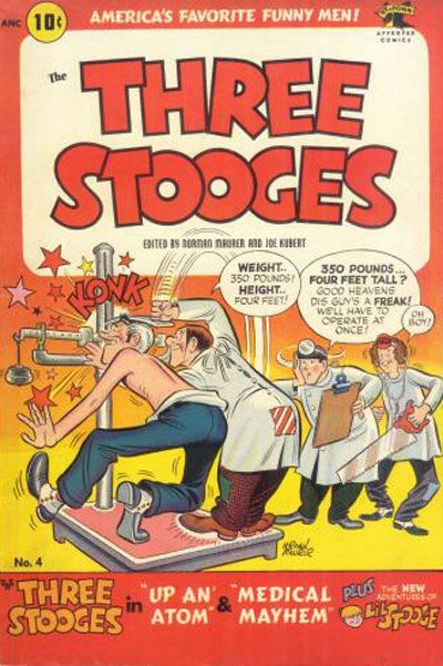 Cover for Three Stooges (St. John, 1953 series) #4