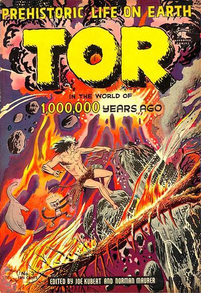 Cover for Tor (St. John, 1954 series) #3