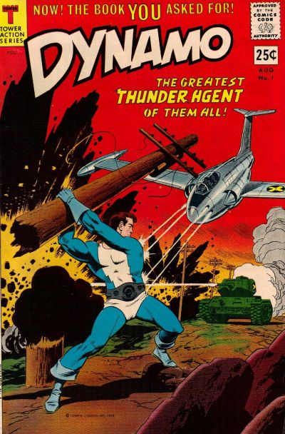 Cover for Dynamo (Tower, 1966 series) #1