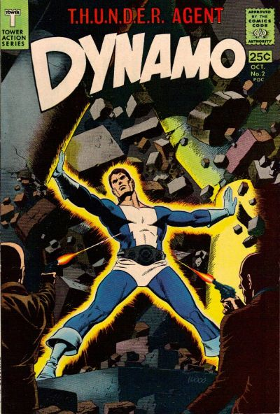 Cover for Dynamo (Tower, 1966 series) #2