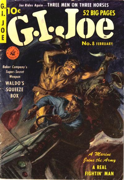 Cover for G.I. Joe (Ziff-Davis, 1951 series) #8