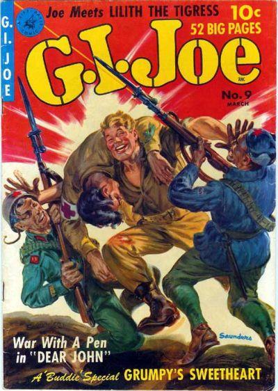 Cover for G.I. Joe (Ziff-Davis, 1951 series) #9
