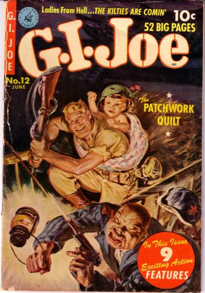 Cover for G.I. Joe (Ziff-Davis, 1951 series) #12